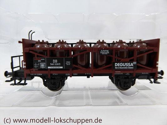 """Insider-Jahreswagen H0 2012 Säuretopfwagen DB  """"Degussa"""" / Märklin 48162"""