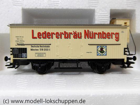 """Märklin 48792 DRG G-Wagen Set Biertransport Ep.2 """"Ledererbräu Nürnberg"""" MHI Sondermodell   7"""
