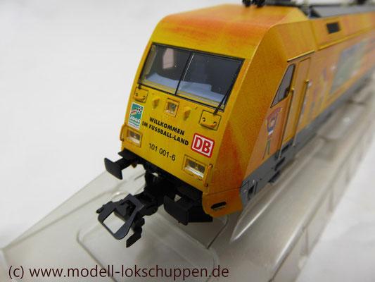 """Märklin 39370 E-Lok BR 101 """"Fußball WM 2006"""" Insider Modell 2000   10"""