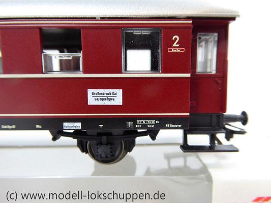 Märklin 4335 / Nebenbahnwagen der DB rot 2 Klasse    4