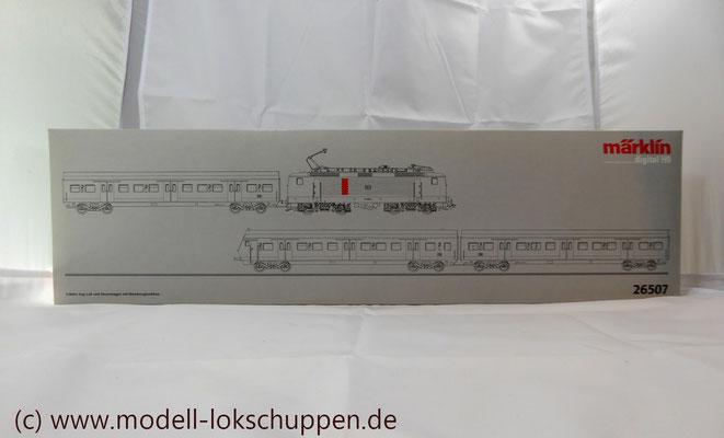 Wendezug im Nahverkehr/S-Bahn / Märklin 26507    2
