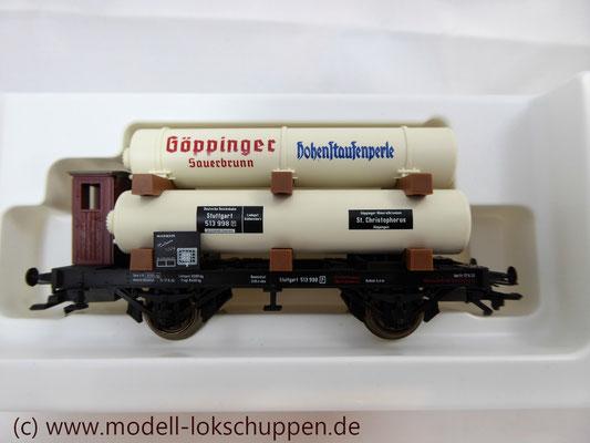 "Märklin H0 Museumswagen 2004 -Kesselwagen ""Göppinger Sauerbrunn"" ein MAN SIH6-Schwerlastwagen"