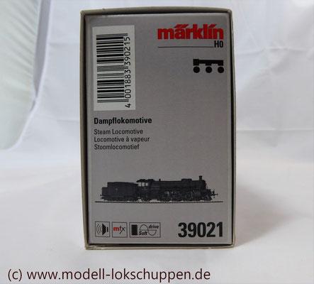 Schnellzuglokomotive Serie IVh der Gr.Bad.Sts.E. / Märklin 39021 MHI 2008    1