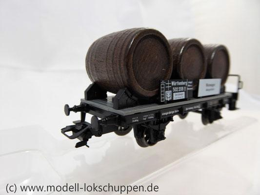 Märklin 46743  Weinfasswagen mit Bremserhaus der K.W.St.E.      6