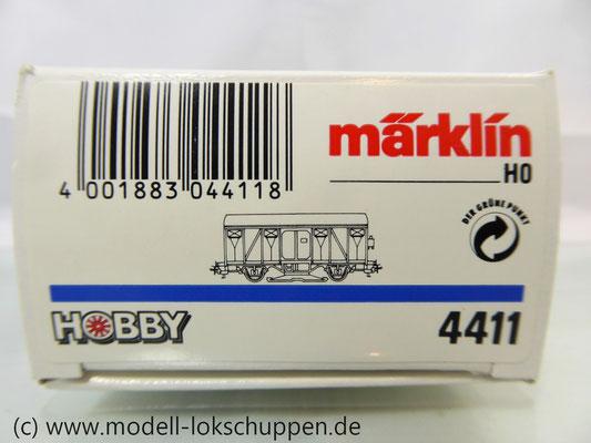Märklin 4411 Gedeckter Güterwagen Grs-v 213 der DB mit beleuchteter Schlusslaterne   1