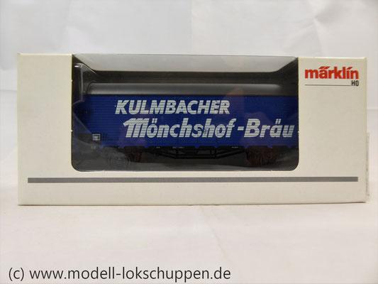 Märklin 46202 Bierwagen der Kulmbacher Brauerei AG    1