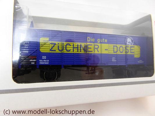 """Insider-Wagen 2000: Gedeckter Güterwagen """"Züchner-Dose"""" /  Märklin 46159    6"""
