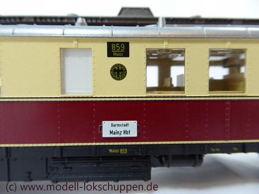 Märklin H0 34261 Diesel-Triebwagen VT 859 der DRG, Delta, MHI 1998    8