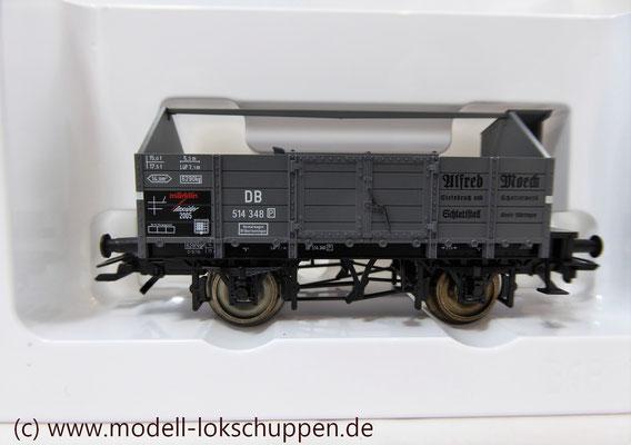 """Märklin 46022 Insider Jahreswagen 2005 - Mittelbordwagen (DB) """"Alfred Moeck""""     4"""