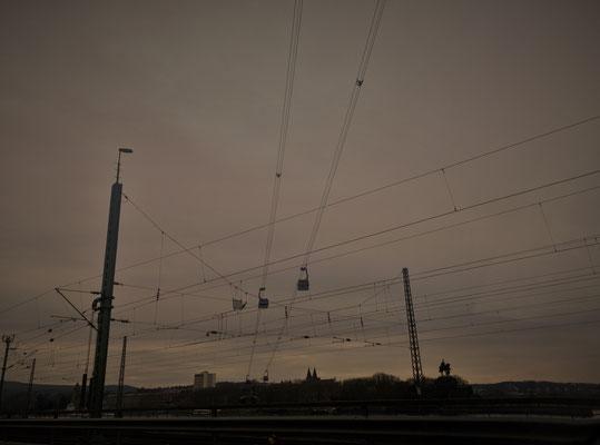 21.02....Koblenz-Dämmerung