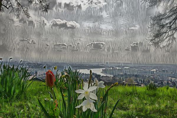 14.04...Aprilwetter zieht sich zurück !