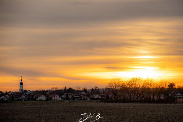 01.03....BY-Kirchham Sonnenuntergang !