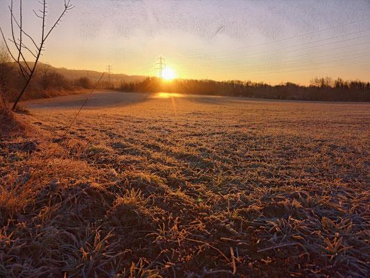 16.02...NR-Frostig und Sonnig an der B42