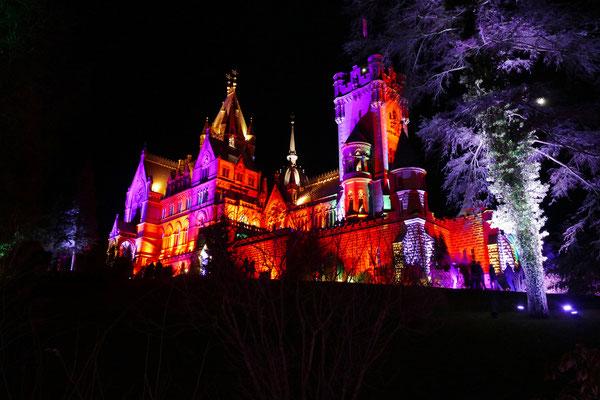 09.02...Licht an auf Schloss Drachenburg!