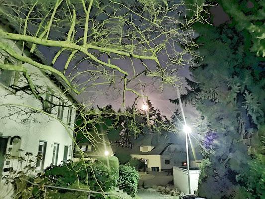 23.02...Heddersdorfer Berg bei Nacht