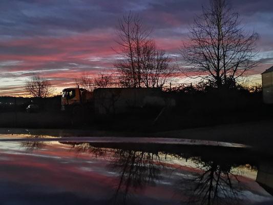 16.01...NWD-Sonneaufgang !