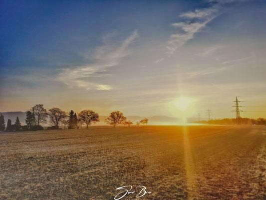 18.03...Sonnenaufgang am Heimbacher Feld !