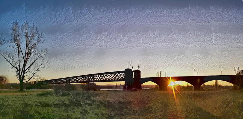 17.01..NWD-Sonnenuntergang !