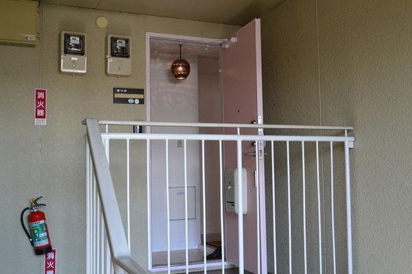 A棟202号室 ドア(TENキー式)