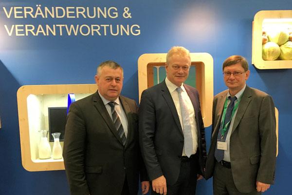 Die Themen Landwirtschaft, Biodiversität, die Tierhaltung und die Gemeinsame Agrarpolitik waren Schwerpunkte im Gespräch mit dem Deutschen Bauernverband