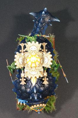 Bastiladon mit Sonnenmaschine