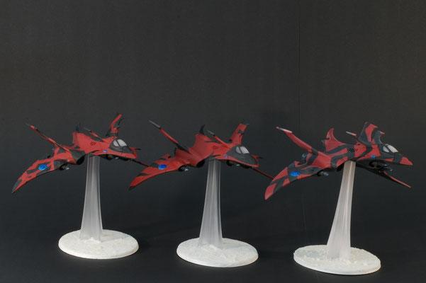 3 Crimson Hunters
