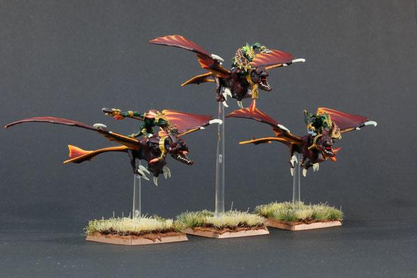 3 Raptodaktylus-Reiter