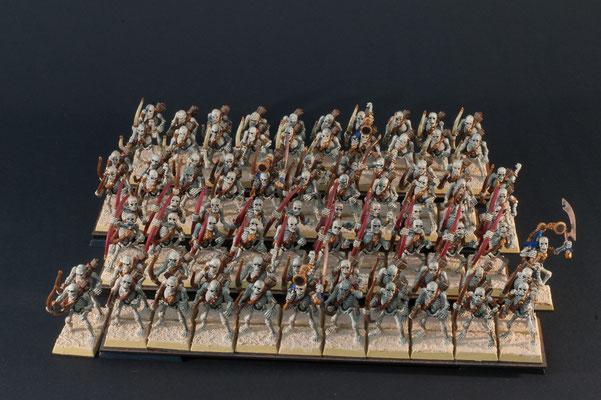 85 Skelettbogenschützen