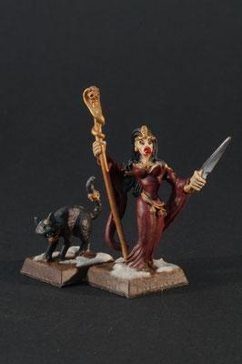 Neferata und Bastet