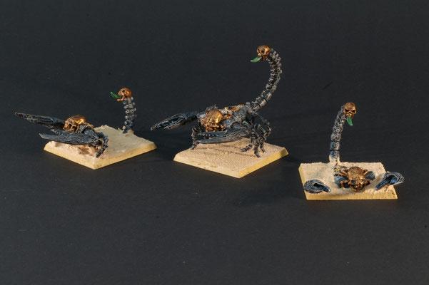 3 Gruftskorpione