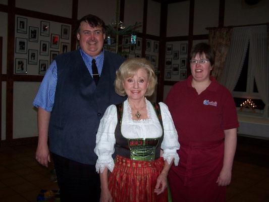 Margot Hellwig bei Carolin und Dieter