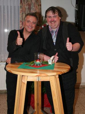 Jörg Knör & Dieter auf der Bühne