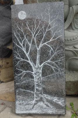 Gravur Baum