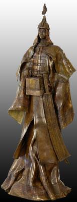 GUERRIER DU KHAN  Bronze et patine Fonderie DELVAL    Reste 2 tirages   possibilité de commande