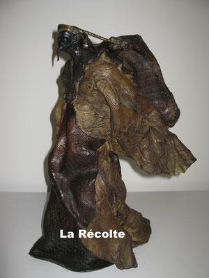 LA RECOLTE  Bronze et Patine Fonderie Delval          N° EA IV/IV     Reste 5 tirages