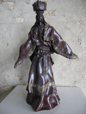 LE RAISIN   Bronze et Patine Fonderie DELVAL                 Reste 8 tirages                      possibilité de commande
