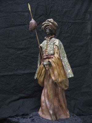 LE JANISSAIR    Bronze et Patine Fonderie Delval          N° 4/8     Reste 7 tirages