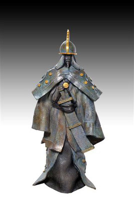 SOLDAT TATAR                 Bronze et patine Fonderie DELVAL       Reste 1 tirage       possibilité de commande