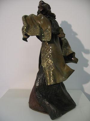 DUNE     Bronze et Patine Fonderie DELVAL                                    Reste 8 tirages                       possibilité de commande