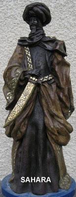 Sahara - Bronze et Patine Fonderie Delval   N° 2/8                tirage épuisé
