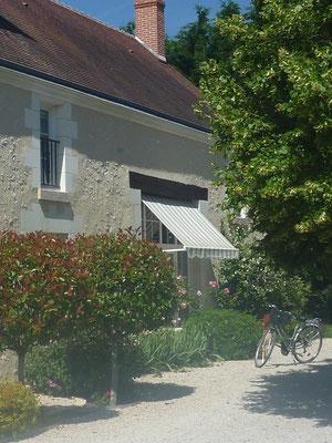 Cheverny, Chambre d'hôtes, Loire a vélo, La Levraudière