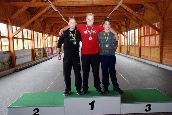 U16: Philipp Fandl, Bernhard Haberler, Marco Weichinger