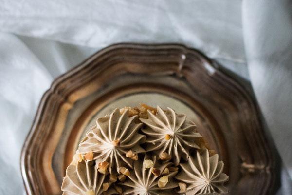 Crème Mousseline mit Mokka und Sauerkirsche (Foto: Süße Poesie)