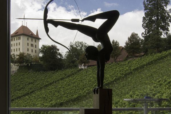 Kunstguss im  Weingut