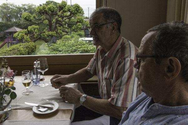Mittagessen im Hotel Bären in Twann