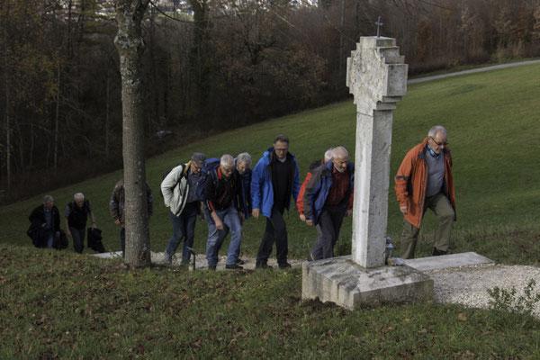 Aufstieg zur Bornkapelle