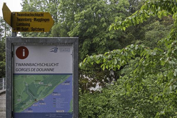 Ausgang Twannbachschlucht