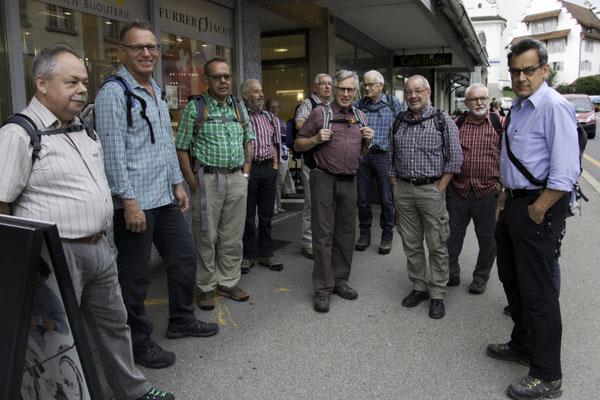 Start im Kafi Bijou, Hochdorf