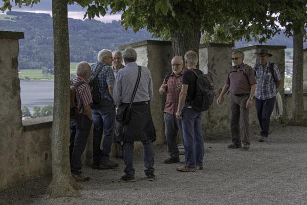 Auf Schloss Heidegg