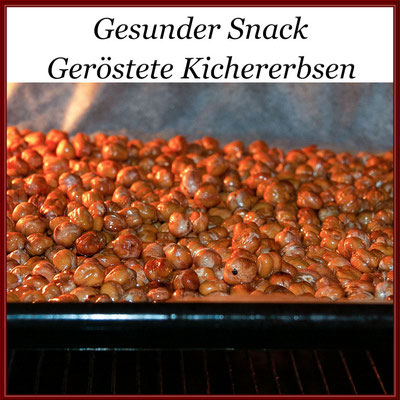 Geröstete Kichererbsen-Snack © Jutta M. Jenning
